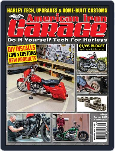 American Iron Garage (Digital) March 26th, 2015 Issue Cover