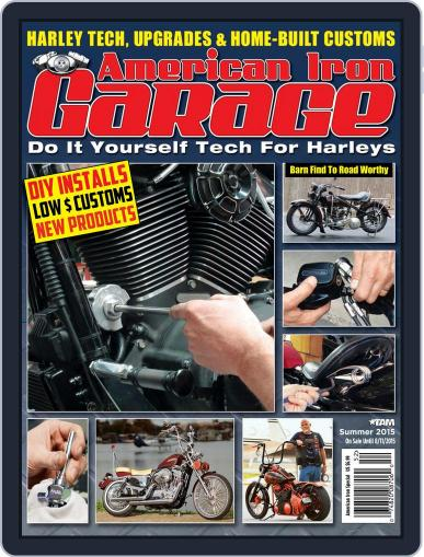 American Iron Garage (Digital) June 4th, 2015 Issue Cover