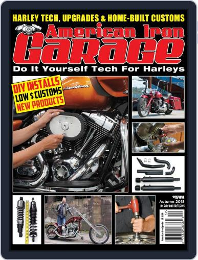 American Iron Garage (Digital) July 31st, 2015 Issue Cover