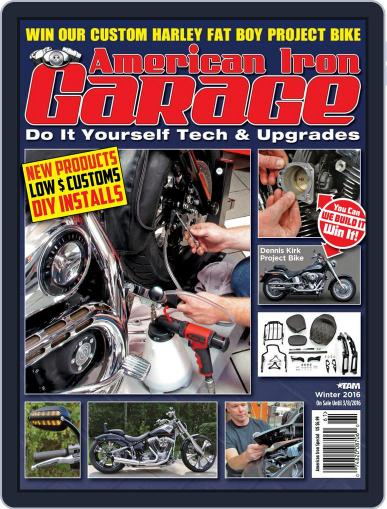 American Iron Garage (Digital) December 29th, 2015 Issue Cover
