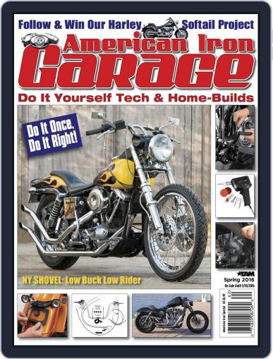 American Iron Garage (Digital) February 16th, 2016 Issue Cover