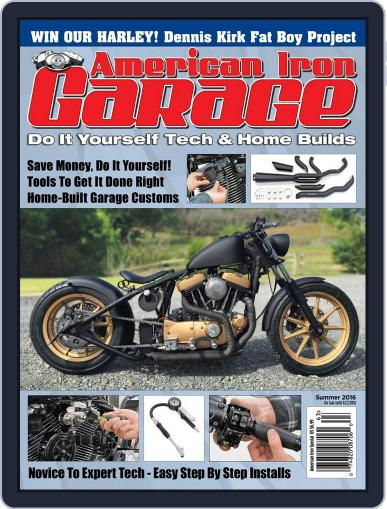 American Iron Garage (Digital) May 12th, 2016 Issue Cover