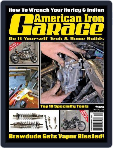 American Iron Garage (Digital) September 1st, 2017 Issue Cover