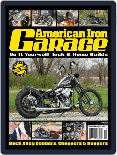 American Iron Garage (Digital) September 1st, 2018 Issue Cover