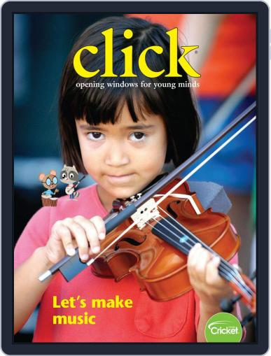 Click Science And Discovery Magazine For Preschoolers And Young Children (Digital) April 1st, 2019 Issue Cover