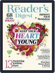 Reader's Digest Digital Magazine Subscription February 1st, 2021 Issue