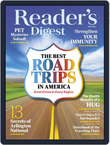 Reader's Digest Digital Magazine May 1st, 2021 Issue Cover