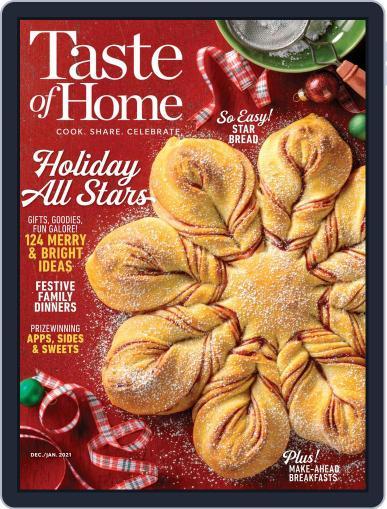 Taste Of Home Digital Magazine December 1st, 2020 Issue Cover