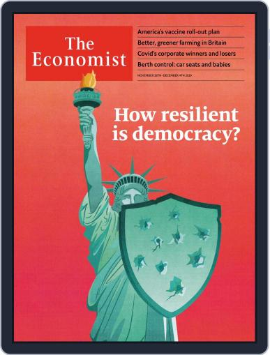 The Economist Digital Magazine November 28th, 2020 Issue Cover