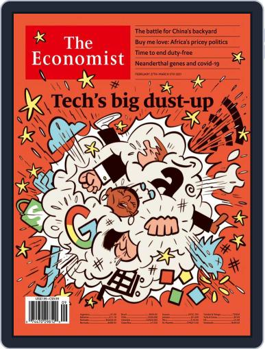 The Economist Digital Magazine February 27th, 2021 Issue Cover