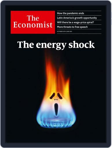 The Economist Digital Magazine October 16th, 2021 Issue Cover