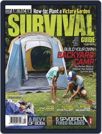 American Survival Guide Digital Magazine October 1st, 2020 Issue Cover