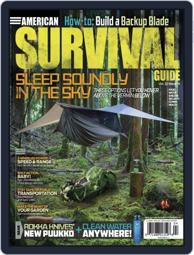 American Survival Guide Digital Magazine April 1st, 2021 Issue Cover