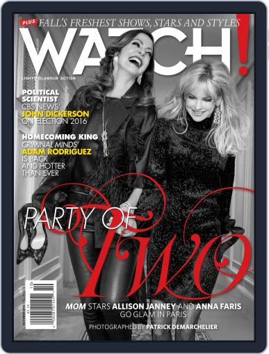 Watch! (Digital) October 1st, 2016 Issue Cover