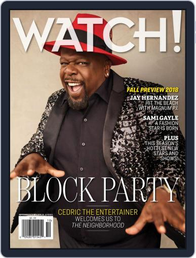 Watch! (Digital) October 1st, 2018 Issue Cover