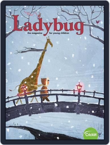 Ladybug Stories, Poems, And Songs Magazine For Young Kids And Children January 1st, 2019 Digital Back Issue Cover