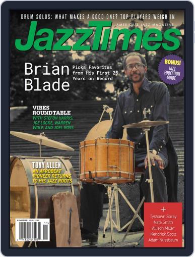 JazzTimes November 1st, 2018 Digital Back Issue Cover