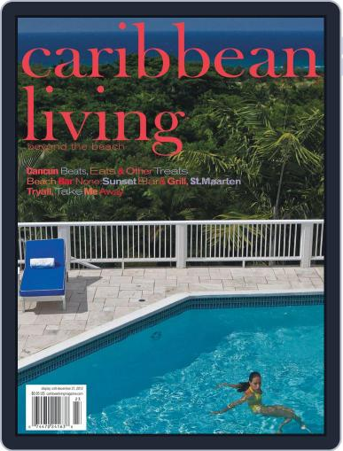Caribbean Living October 25th, 2012 Digital Back Issue Cover