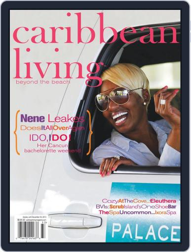 Caribbean Living October 11th, 2013 Digital Back Issue Cover