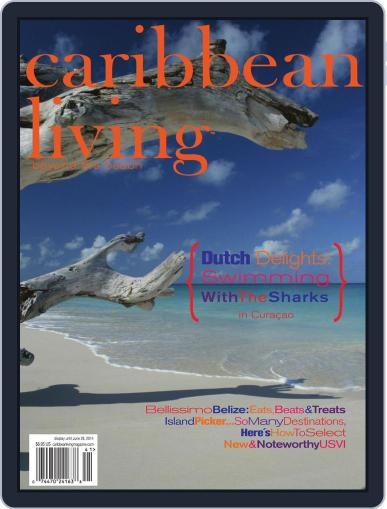Caribbean Living March 26th, 2014 Digital Back Issue Cover