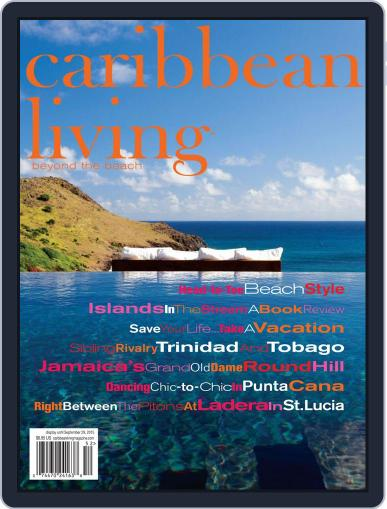 Caribbean Living July 1st, 2015 Digital Back Issue Cover