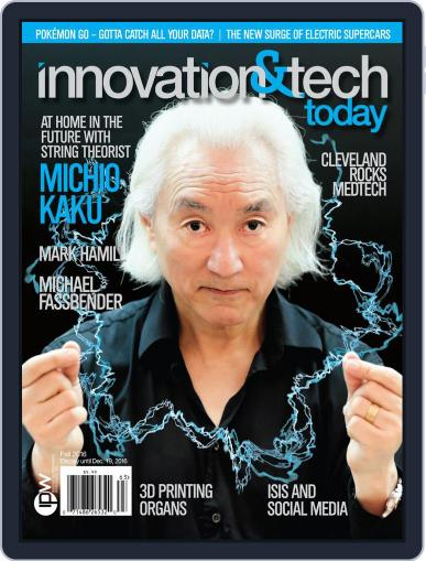 Innovation & Tech Today Magazine (Digital) September 26th, 2016 Issue Cover