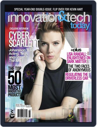Innovation & Tech Today December 1st, 2016 Digital Back Issue Cover