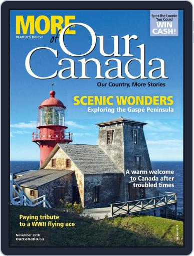 More of Our Canada (Digital) November 1st, 2018 Issue Cover