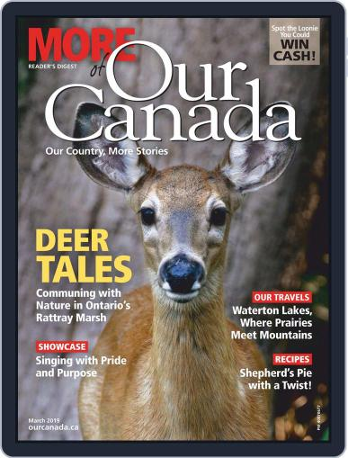 More of Our Canada (Digital) March 1st, 2019 Issue Cover