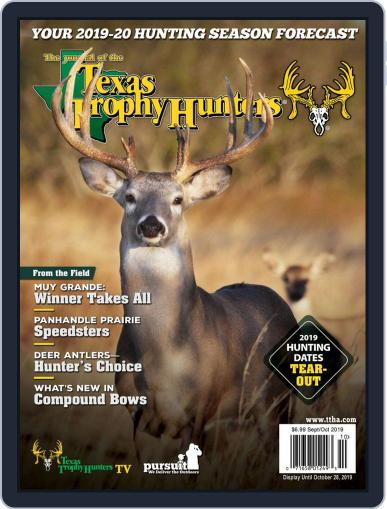 The Journal of the Texas Trophy Hunters September 1st, 2019 Digital Back Issue Cover
