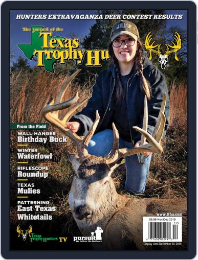 The Journal of the Texas Trophy Hunters November 1st, 2019 Digital Back Issue Cover