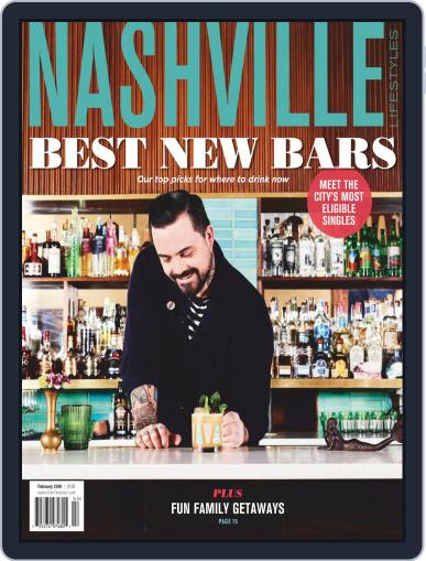 Nashville Lifestyles February 1st, 2019 Digital Back Issue Cover