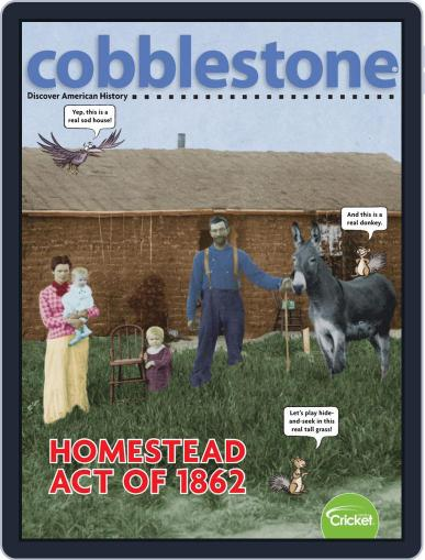 Cobblestone American History and Current Events for Kids and Children (Digital) October 1st, 2019 Issue Cover