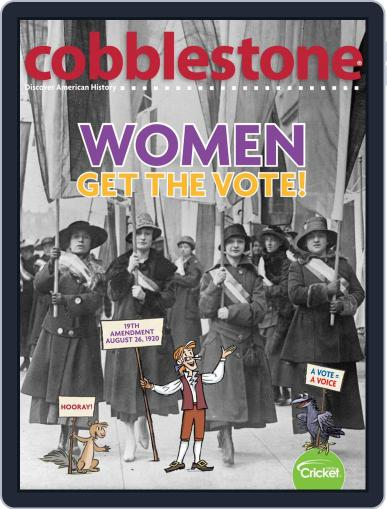 Cobblestone American History and Current Events for Kids and Children (Digital) March 1st, 2020 Issue Cover