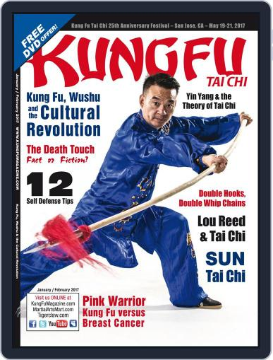 Kung Fu Tai Chi January 1st, 2017 Digital Back Issue Cover