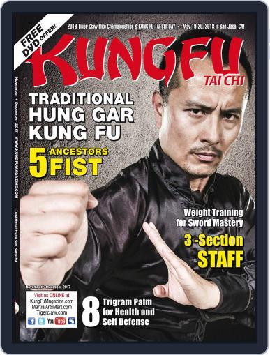 Kung Fu Tai Chi November 1st, 2017 Digital Back Issue Cover