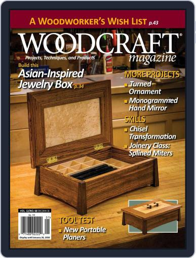 Woodcraft (Digital) December 1st, 2015 Issue Cover