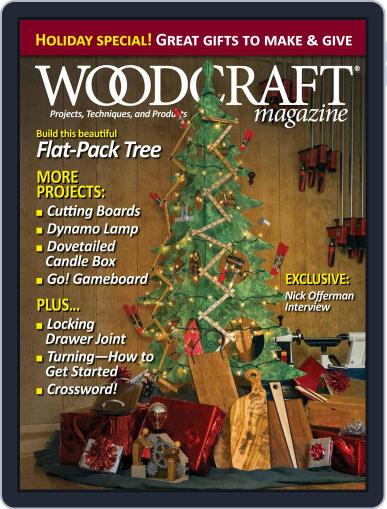 Woodcraft (Digital) December 1st, 2016 Issue Cover