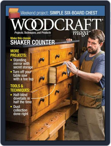 Woodcraft (Digital) February 1st, 2018 Issue Cover