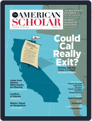 The American Scholar March 1st, 2017 Digital Back Issue Cover
