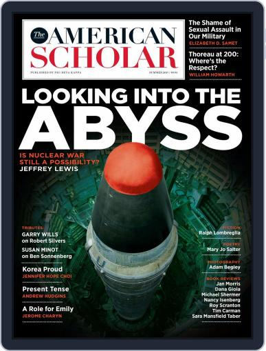The American Scholar April 1st, 2017 Digital Back Issue Cover