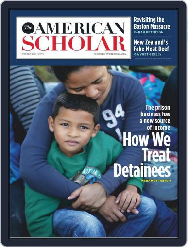 The American Scholar December 1st, 2018 Digital Back Issue Cover