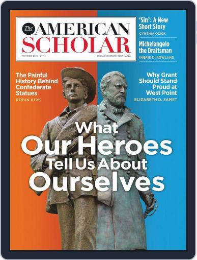 The American Scholar September 1st, 2019 Digital Back Issue Cover