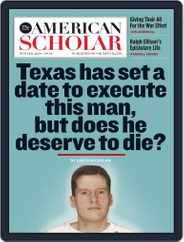 The American Scholar (Digital) Subscription December 1st, 2019 Issue