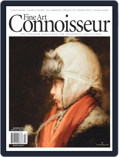 Fine Art Connoisseur (Digital) November 1st, 2012 Issue Cover