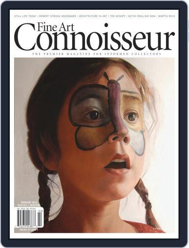 Fine Art Connoisseur (Digital) January 1st, 2013 Issue Cover