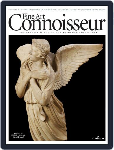 Fine Art Connoisseur (Digital) July 1st, 2013 Issue Cover
