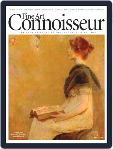 Fine Art Connoisseur (Digital) September 1st, 2013 Issue Cover