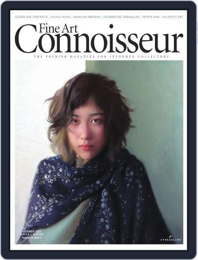 Fine Art Connoisseur (Digital) November 1st, 2013 Issue Cover