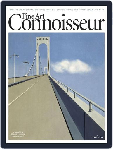 Fine Art Connoisseur (Digital) January 6th, 2014 Issue Cover